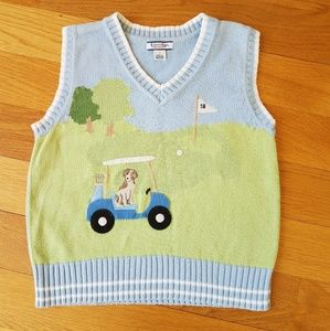 Kitestrings by Hartstrings Boys Knit Vest